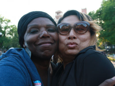 two black trans women